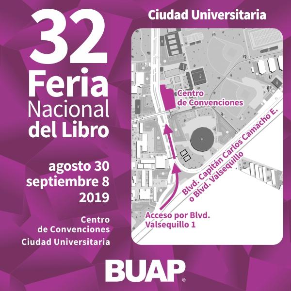32 Feria Nacional del Libro Centro de convenciones