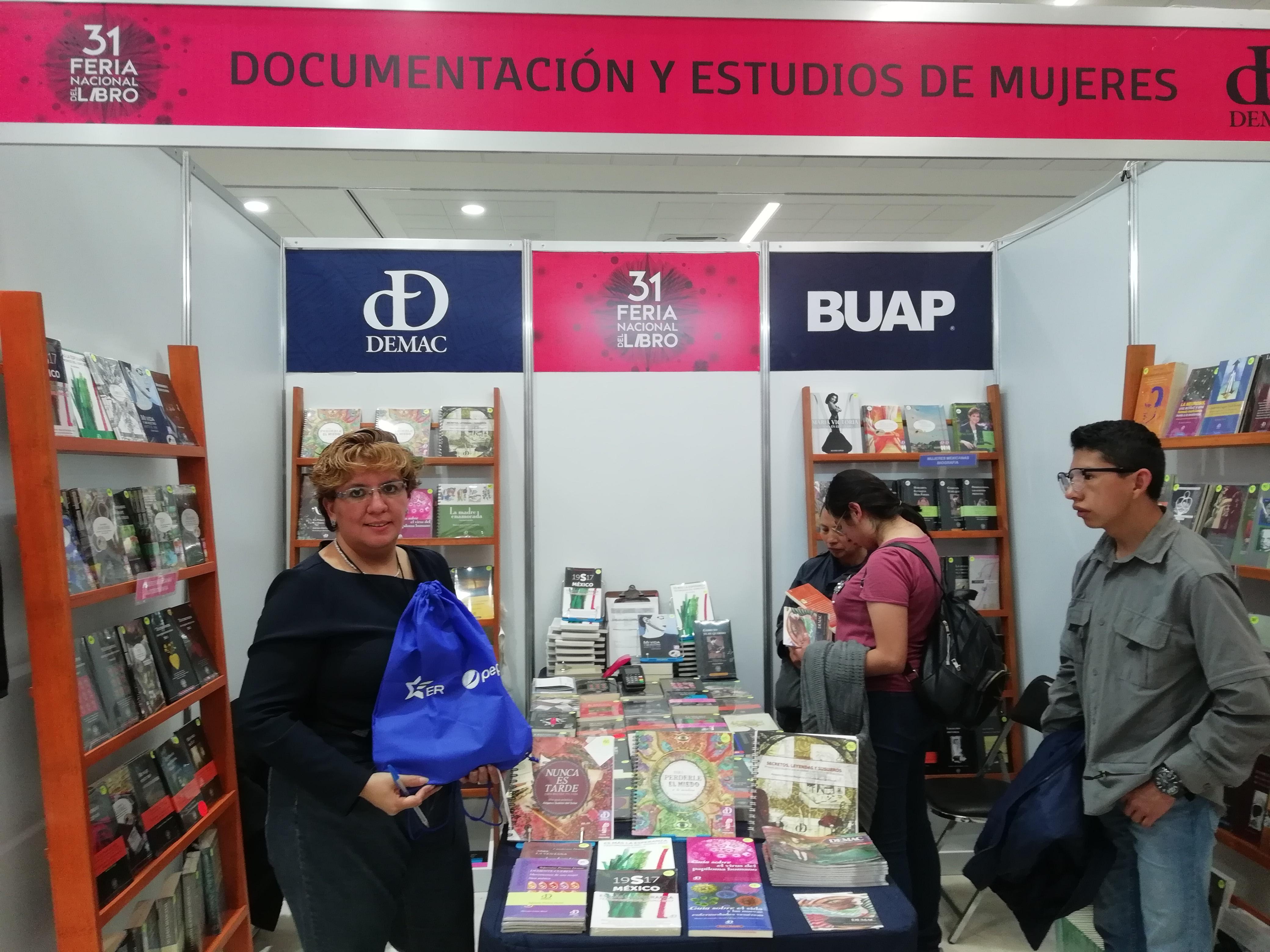 expositores Feria Nacional del Libro 2018